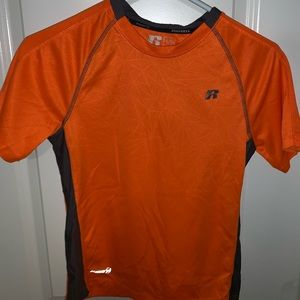 Used orange shirt